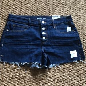 NWT Jean Short w/ Button Fly